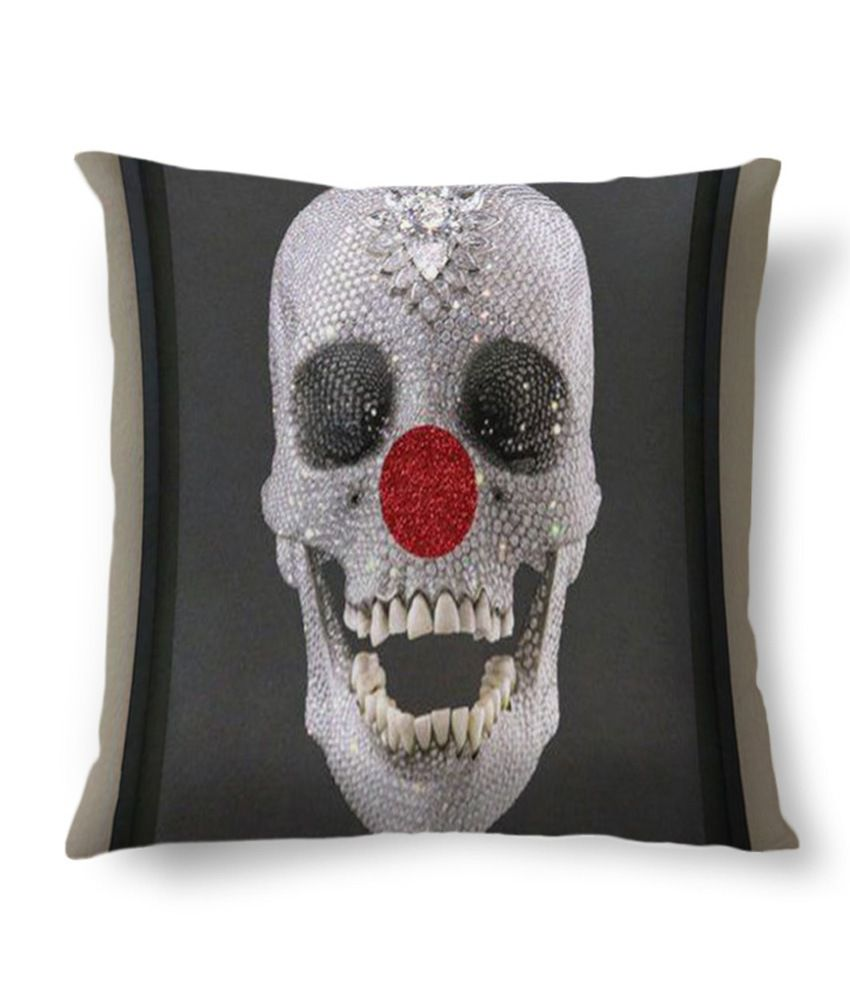 Amy Daimond Skull Cushion Cover: Buy Online at Best Price ...