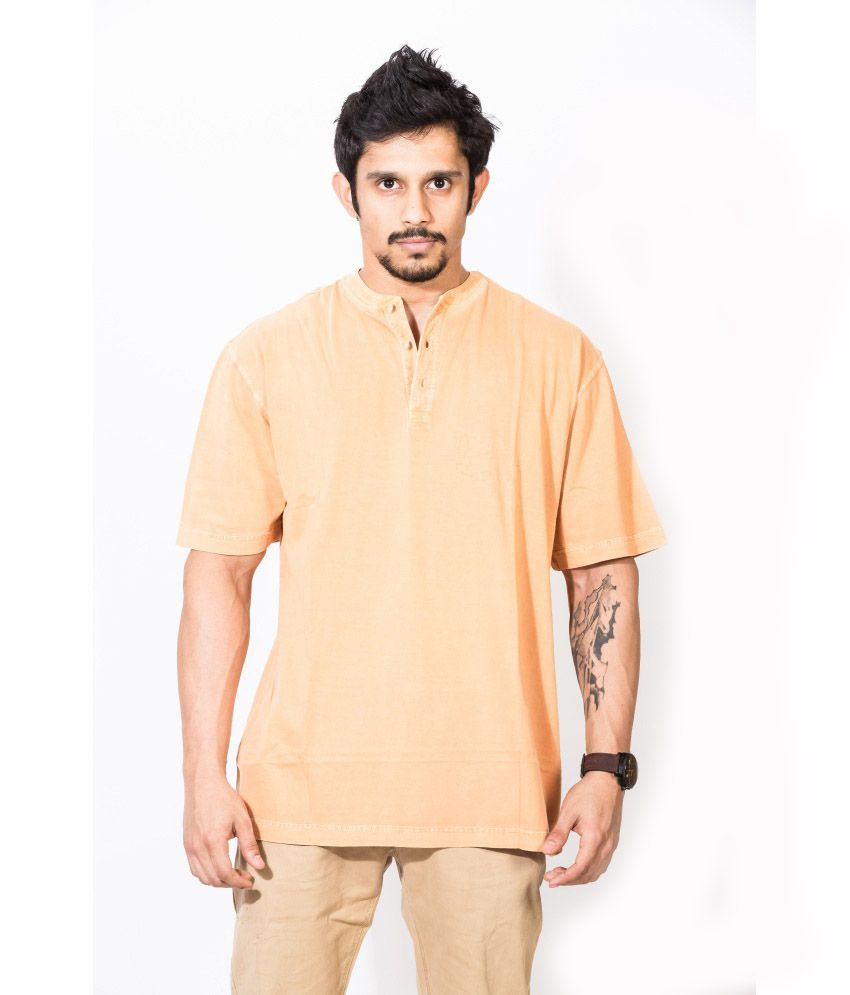 Dream Of Glory Inc. Beige Cotton T-shirt