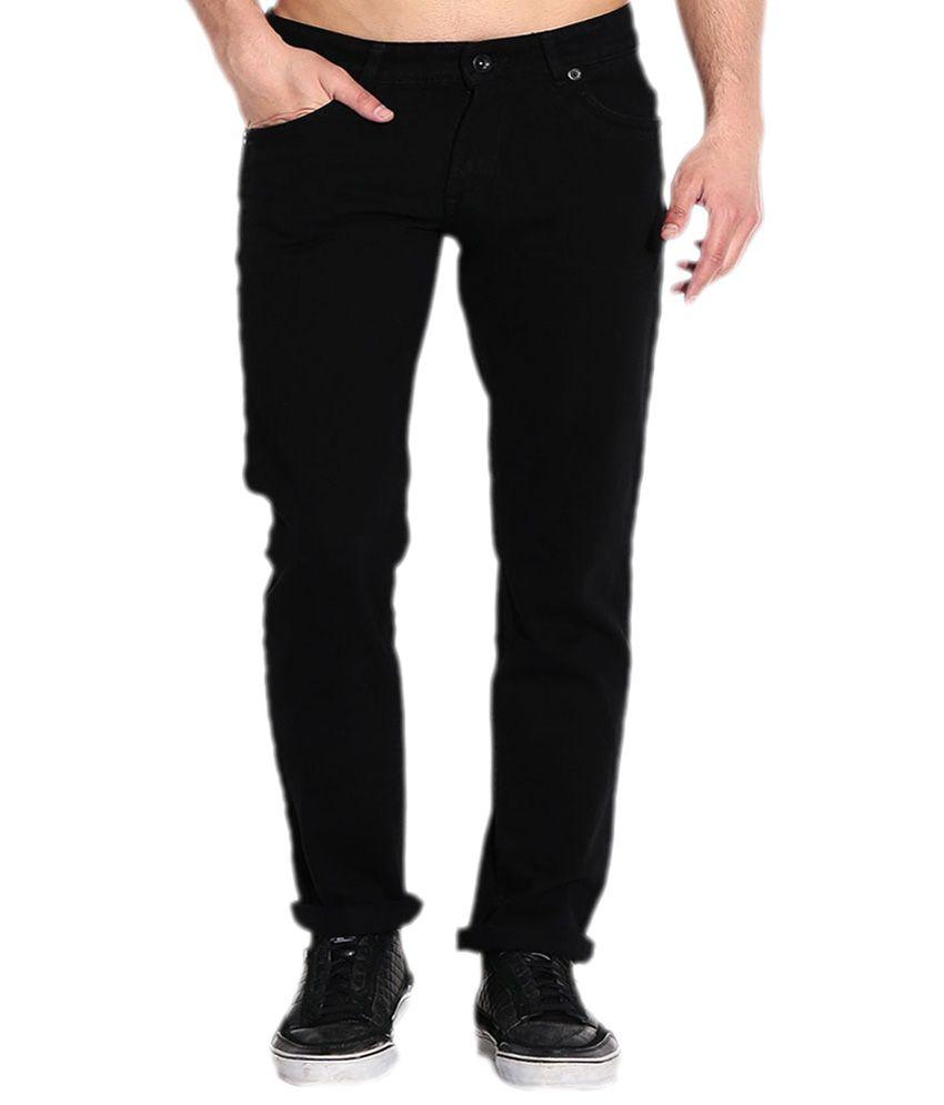 Jovial Mart Store Black Cotton Skinny Fit Jeans
