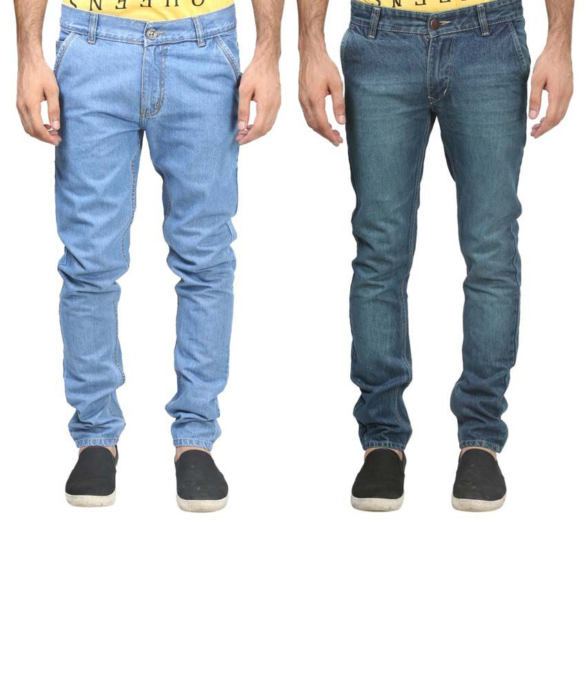 Trendy Trotters Cotton Non-Stretchable Denim Jeans