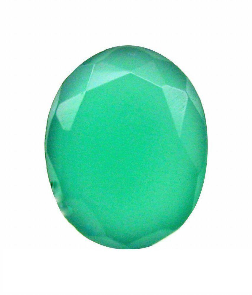 Asian Gems & Jewels Cultured Gemstone Emerald - Panna 5.25 - 5.50 Ratti (Suggested) Super Delux Quality