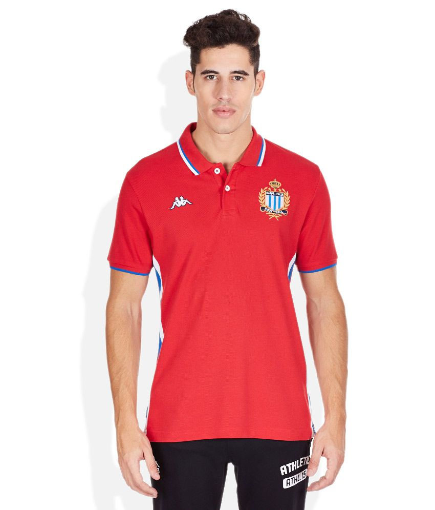Kappa Red Polo T-Shirt