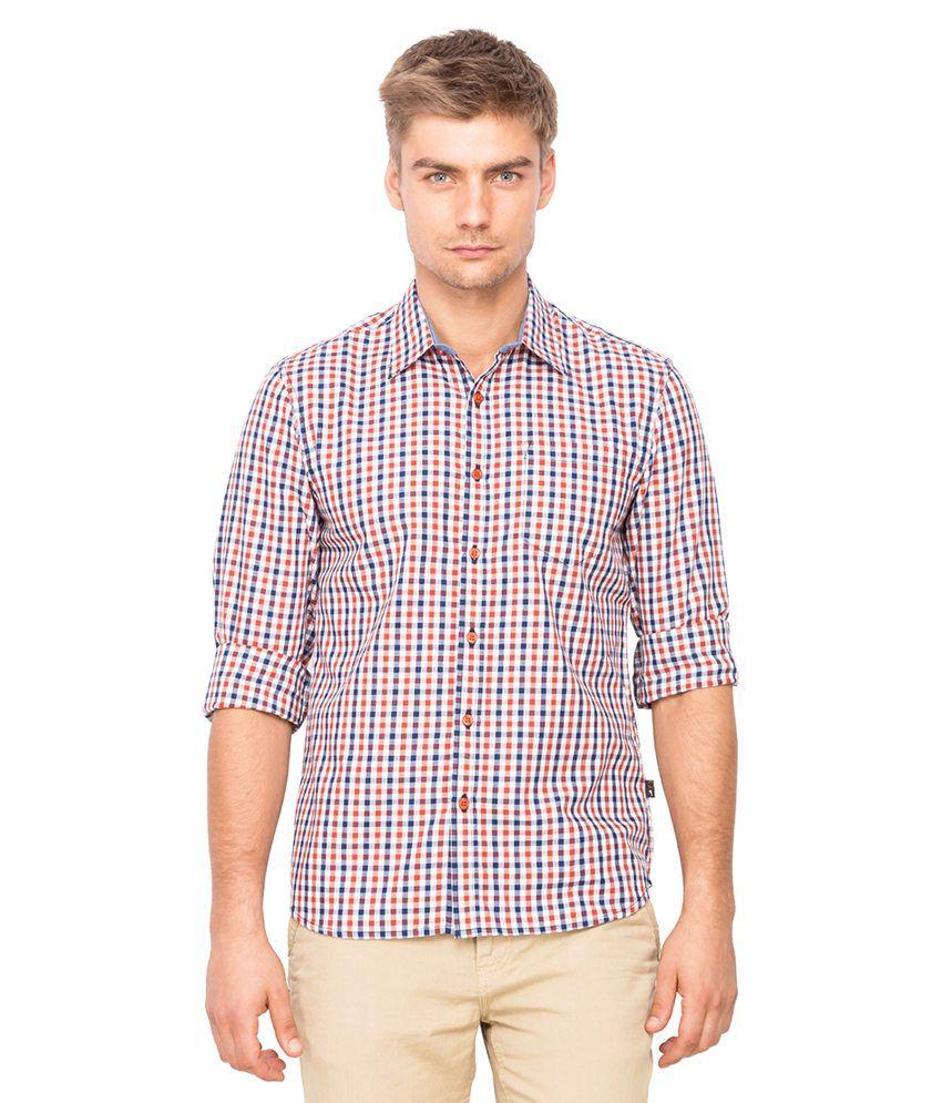 Full sleeve cotton checks shirts buy full sleeve cotton for Jockey full sleeve t shirts india