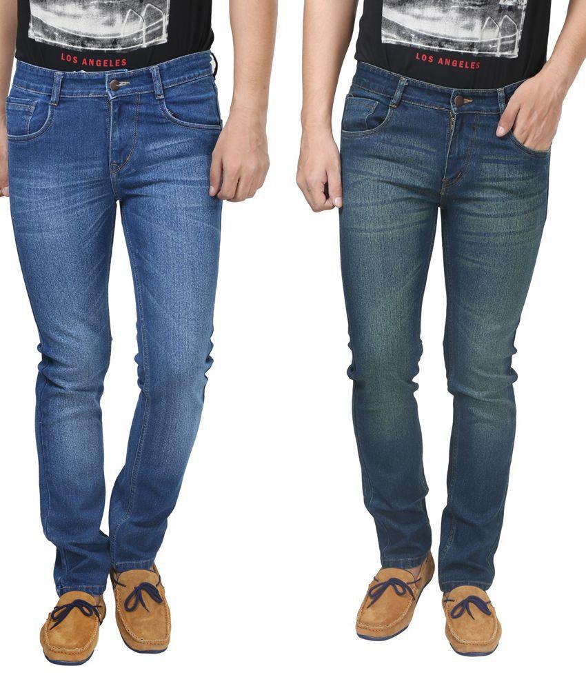 Trendy Trotters Cotton Non-Stretchable Denim Jeans