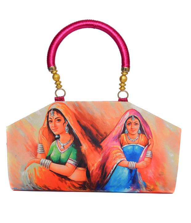 Rehan's Multicolor Designer Clutch