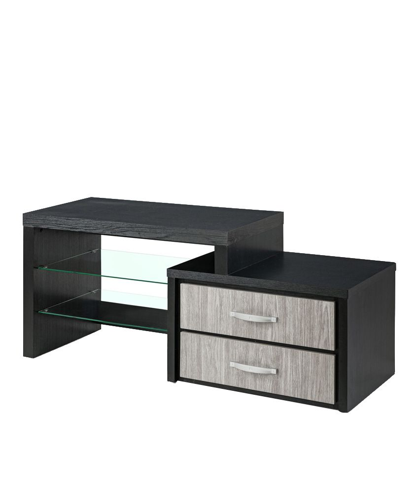 royaloak berlin tv unit with dark grey finish buy royaloak berlin tv unit with dark grey. Black Bedroom Furniture Sets. Home Design Ideas