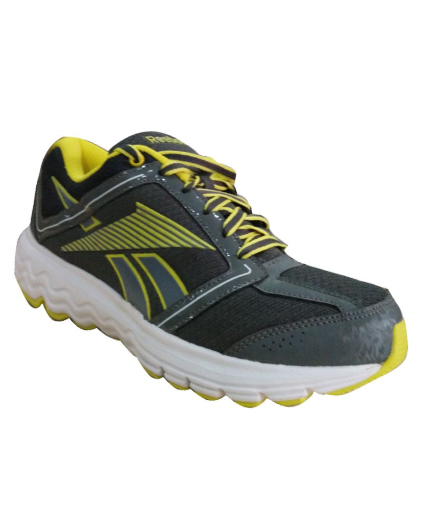 Reebok Gray Running Sports Shoes