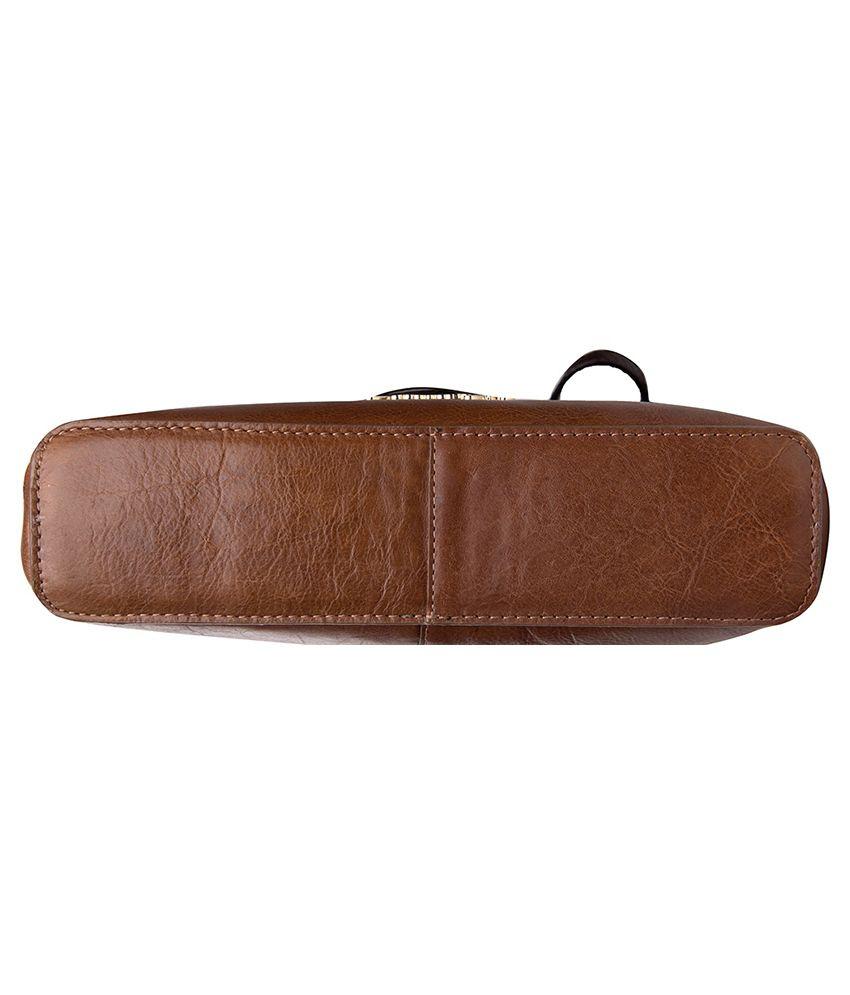 4de524bf3b Hidesign Tan Sling Bags - Buy Hidesign Tan Sling Bags Online at Best ...