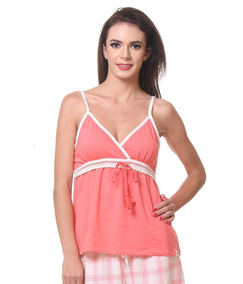 Kotty Pink Cotton Nighty