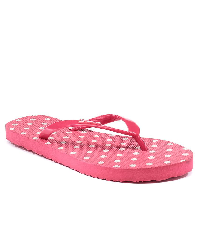 cc317ff07 Lavie Pink Women Flip Flops Price in India- Buy Lavie Pink Women Flip Flops  Online at Snapdeal