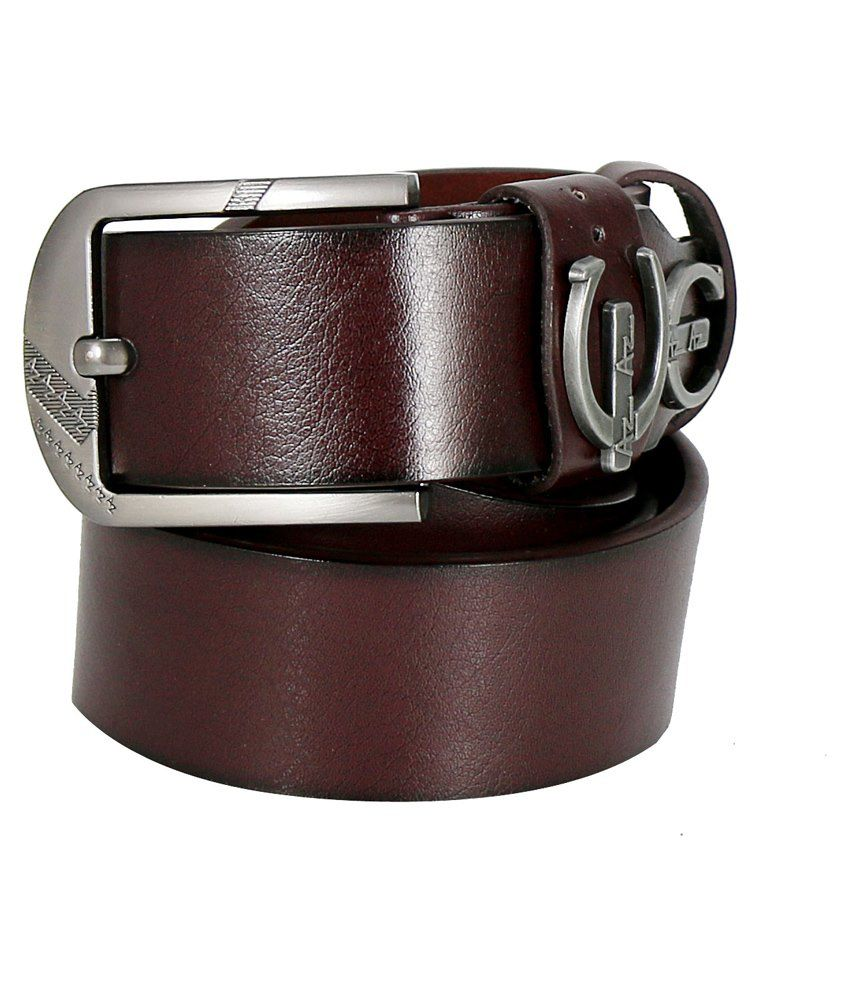 Hello Brown Casual Belt