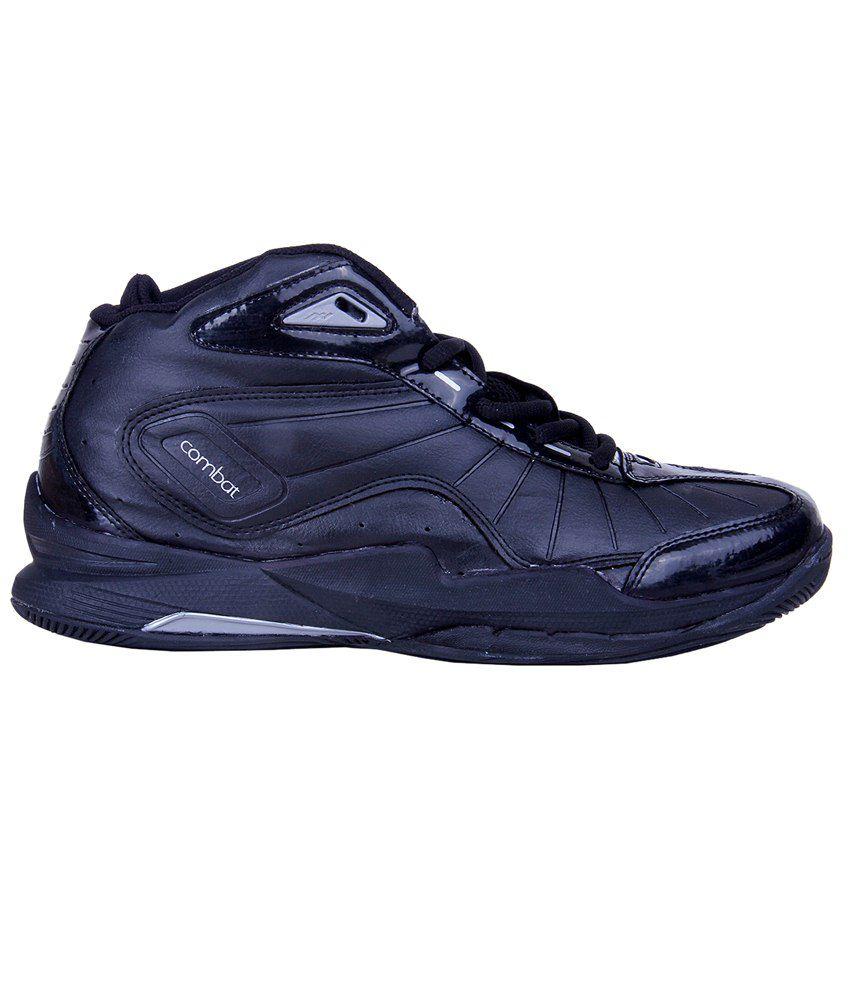 f128b606c Nivia Black Combat I Basketball Shoes For Men-17109: Buy Online at ...