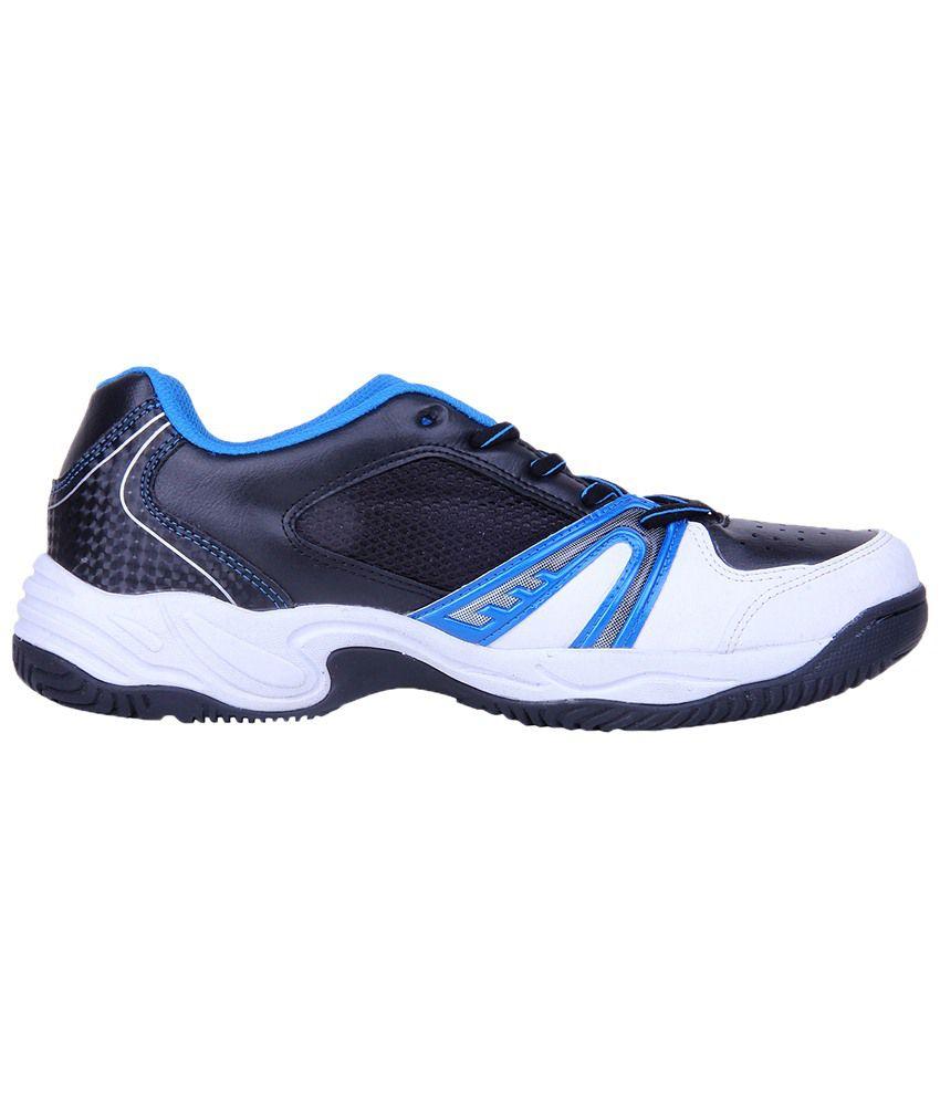Nivia Black \u0026 White Energy Tennis Shoes