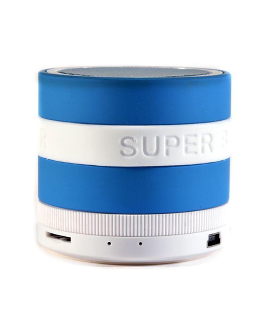 Qline Bluetooth Speakers 2.1 Computer Speakers Blue