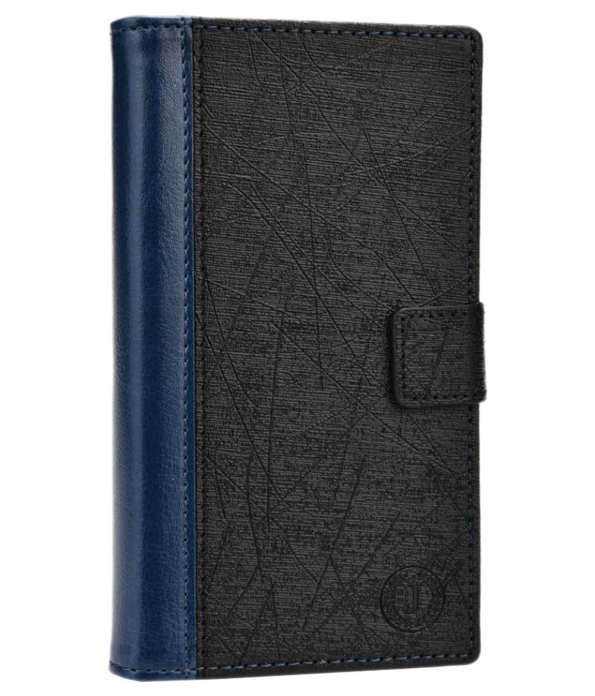 Jo Jo Leather Flip Cover For LG G Pro 2 (16 GB) - Black