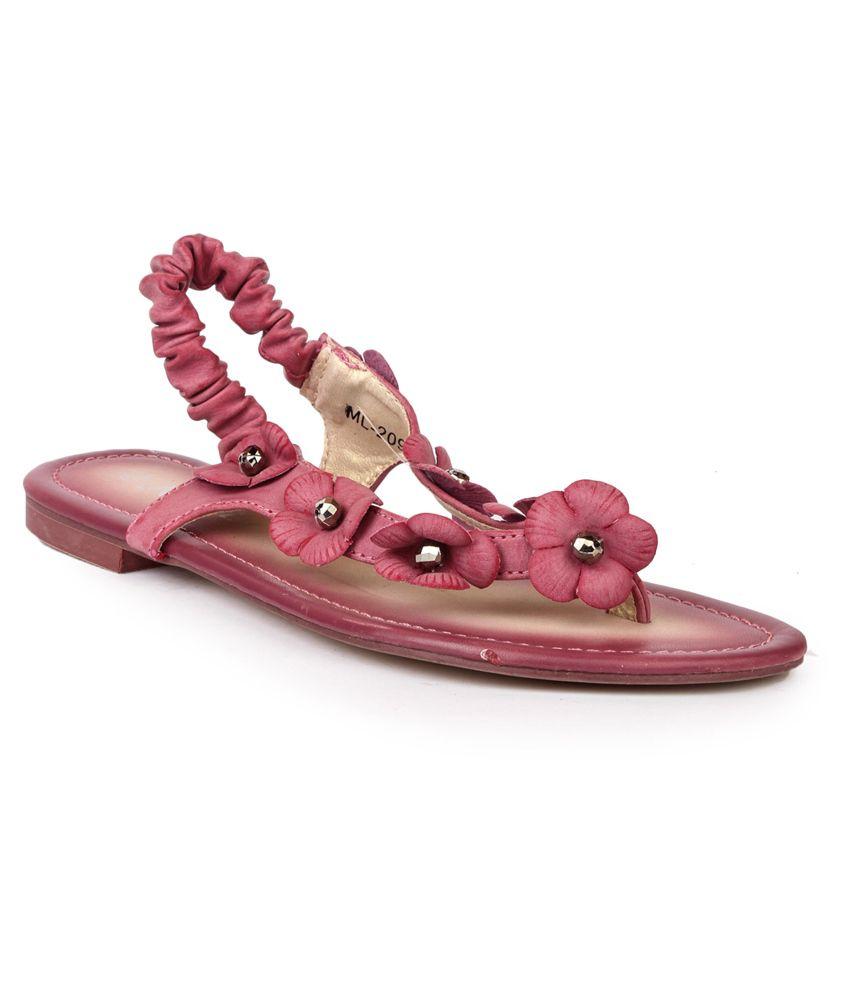 Darcey Pink Sandals