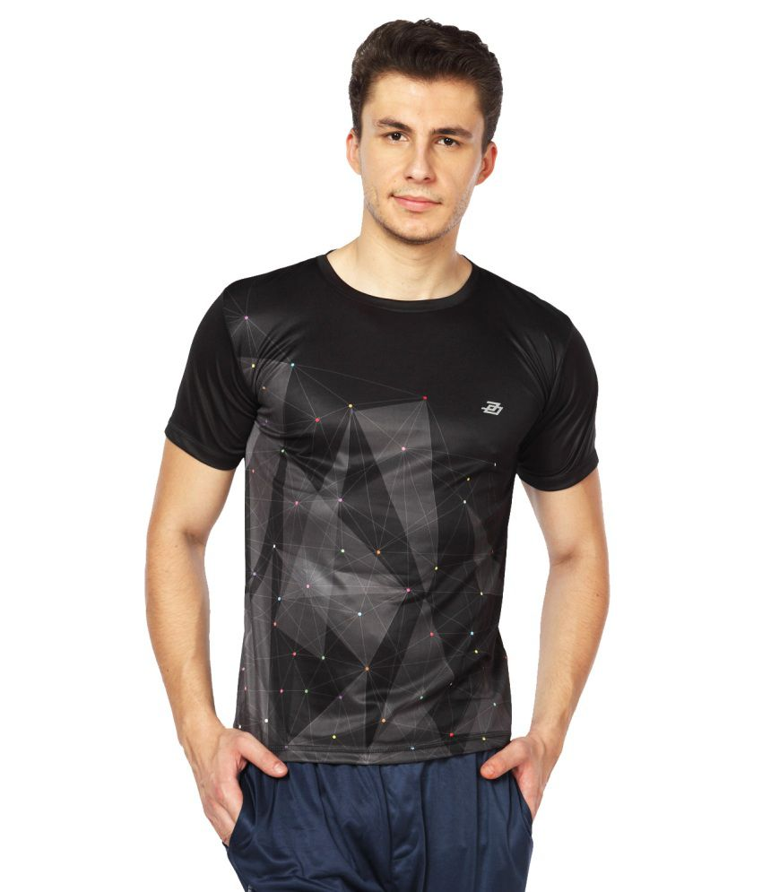 Difference Of Opinion Black Polyester T Shirt