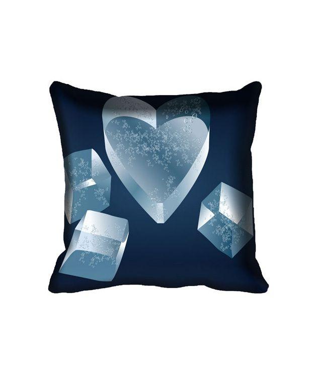 Mesleep Heart Digital Printed Cushion Cover -Set of 4