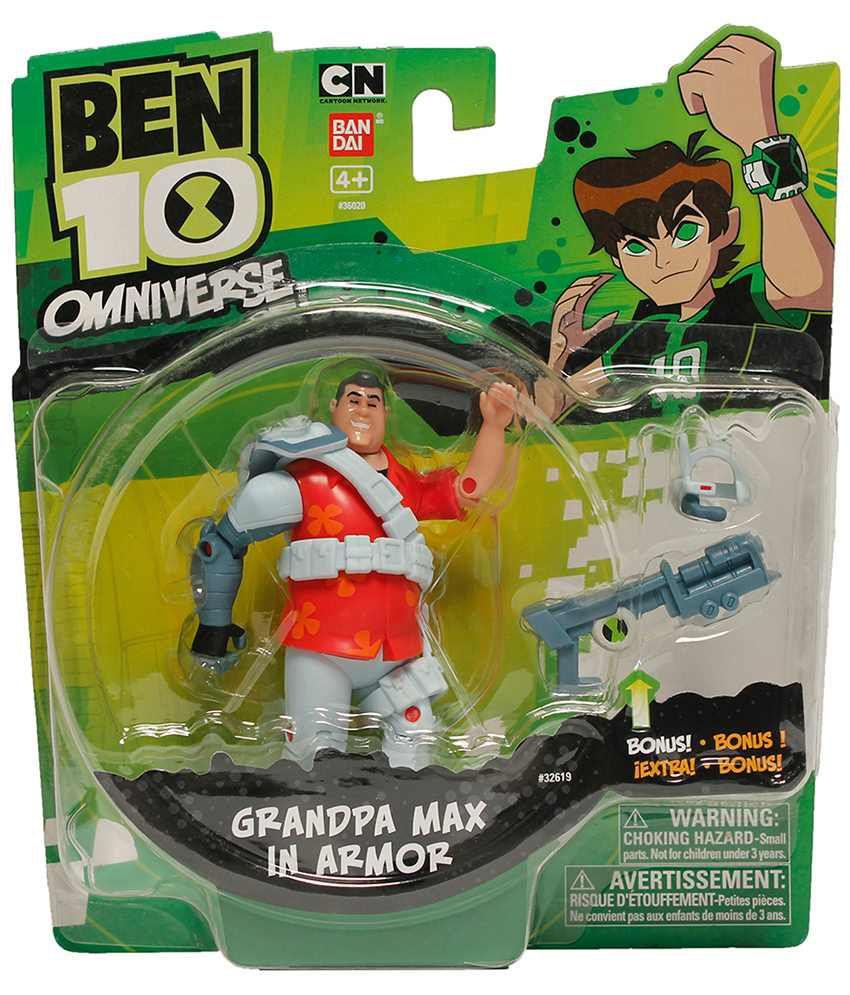 Ben 10 Alien Force 4 Inch Action Figure Grandpa Max