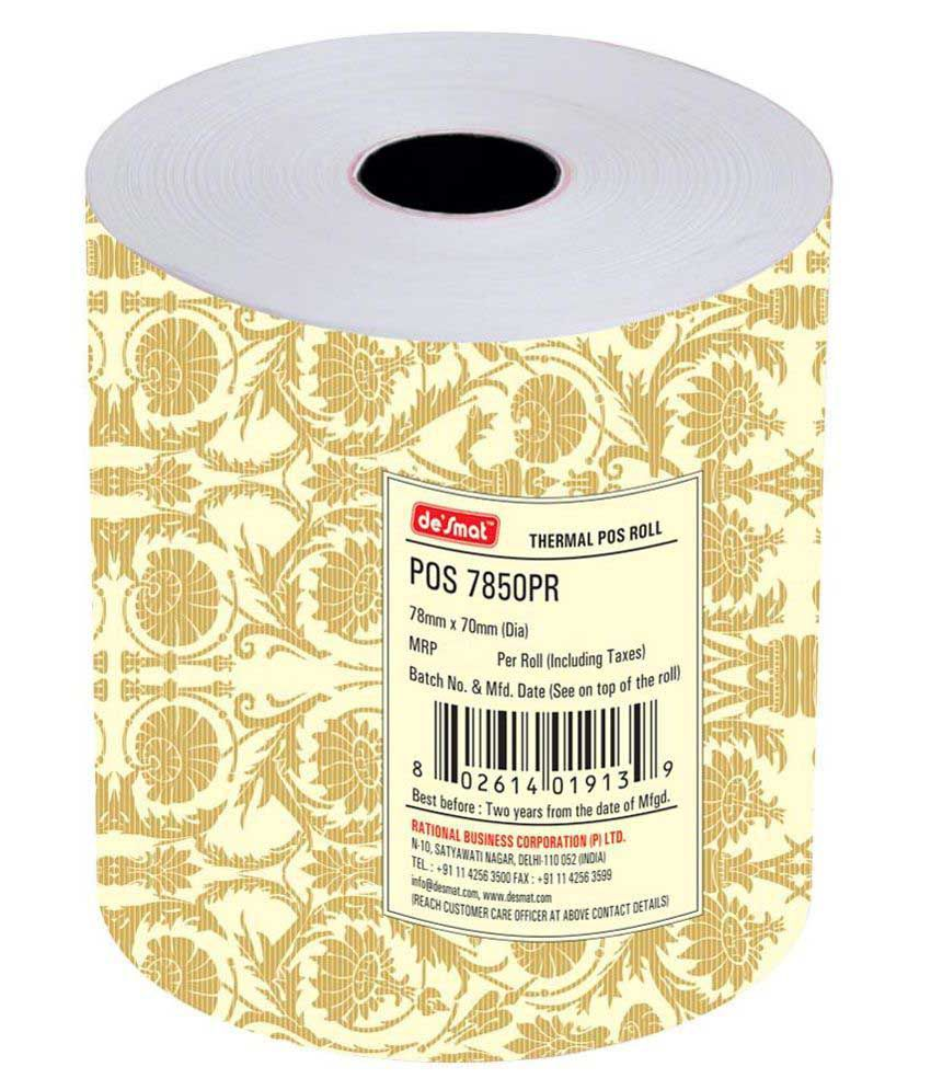 Desmat POS Thermal Billing Roll: Buy Online at Best Price in India