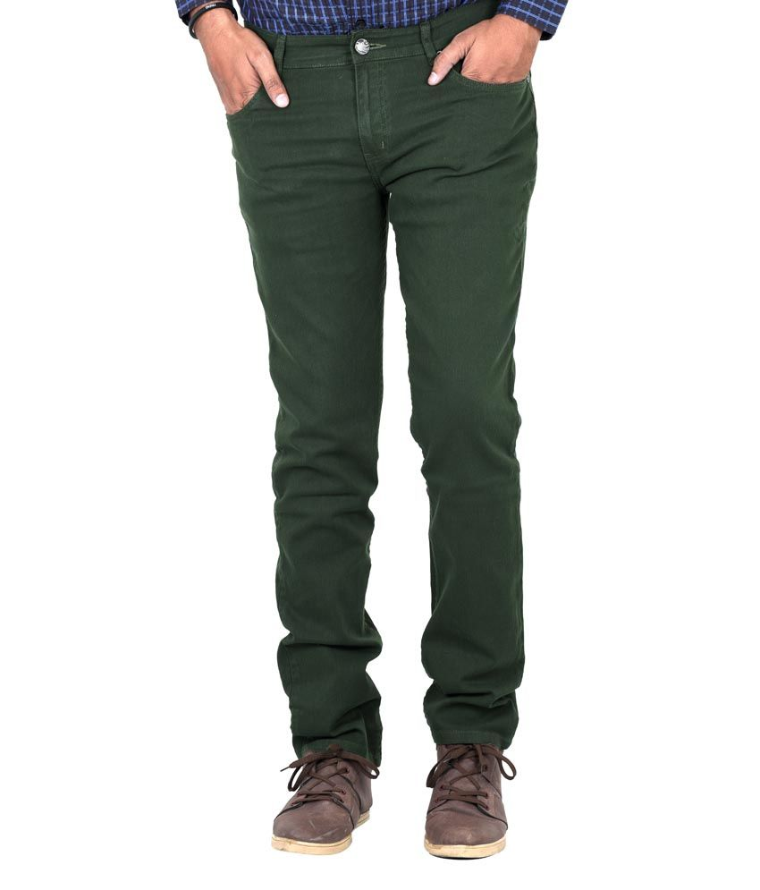 Indigen Green Cotton Blend Skinny Basics Jeans