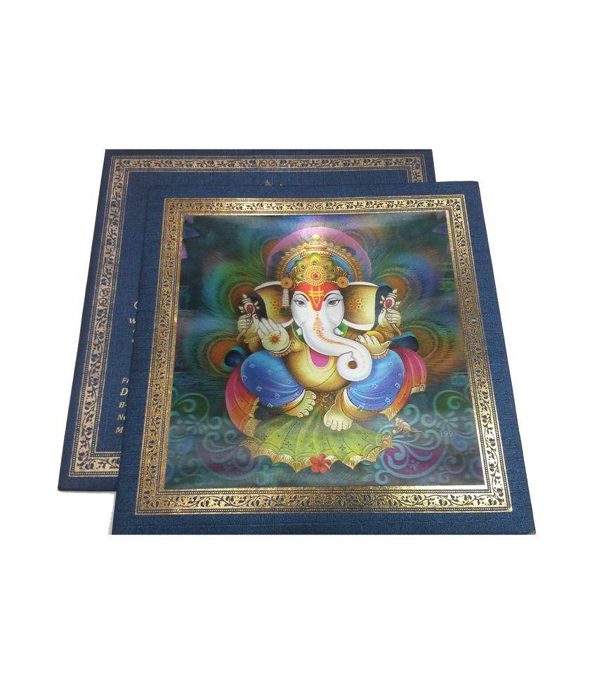 Parinay Cards Hindu Wedding Card 3D