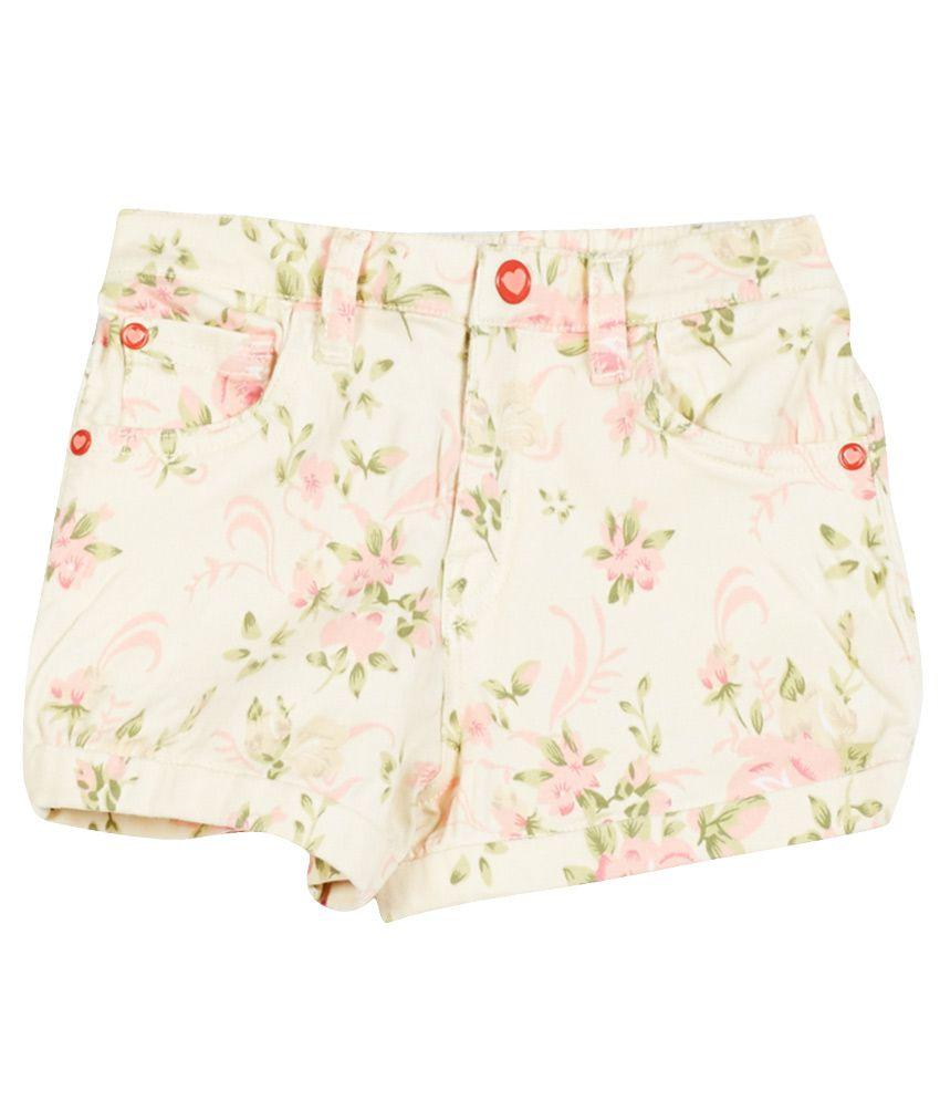 Gini & Jony Multicolor Cotton Shorts