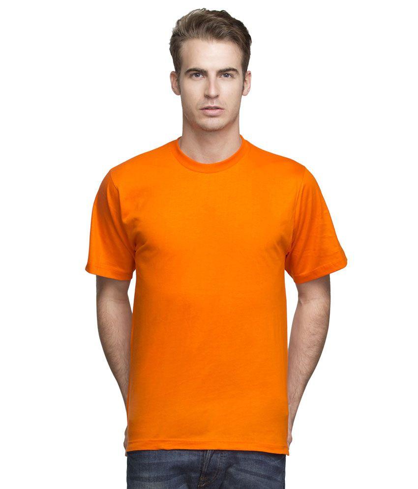 Zen Hygenics Orange Cotton T-Shirt