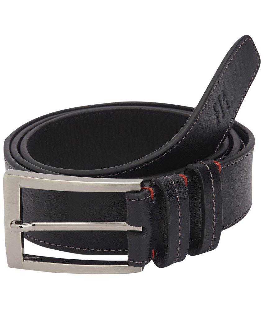 Raymond Stunning Black Formal Waist Belt for Men