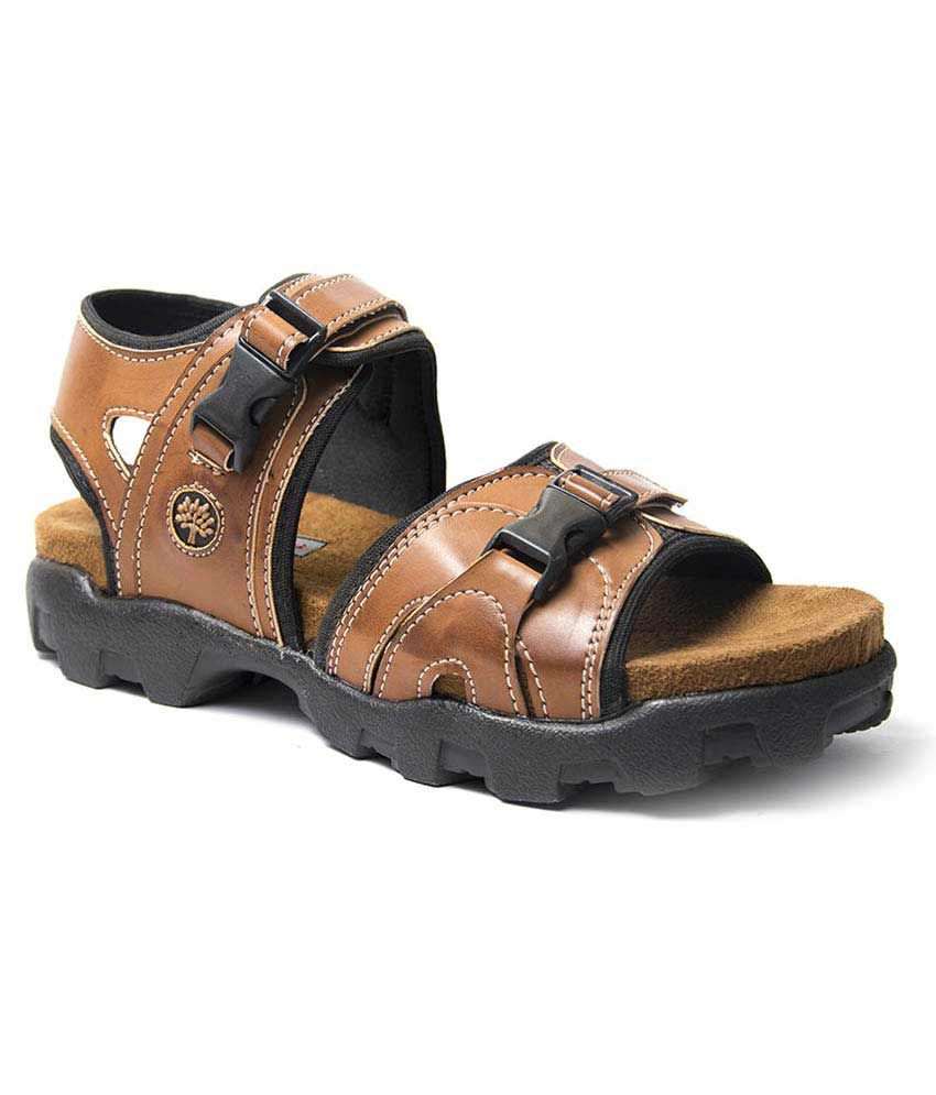 651528bb6e8 Binutop Tan Velcro Sandals Price in India- Buy Binutop Tan Velcro Sandals  Online at Snapdeal