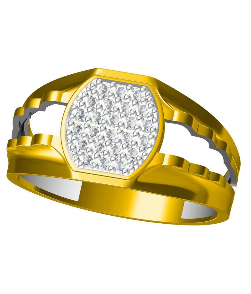 Bluemoon 14kt Low Price Mens Or Gent's Gold Diamond Ring
