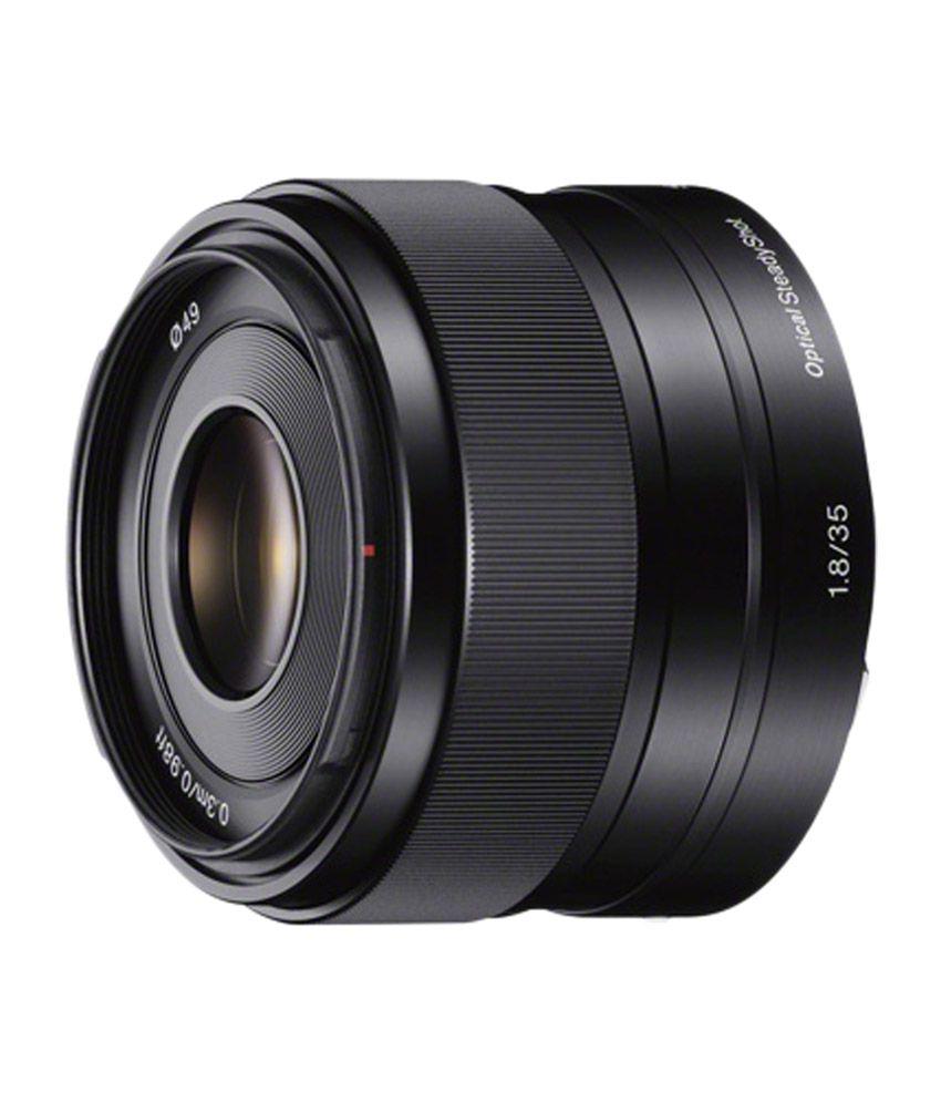 Sony E 35mm F1.8 OSS Prime Lens