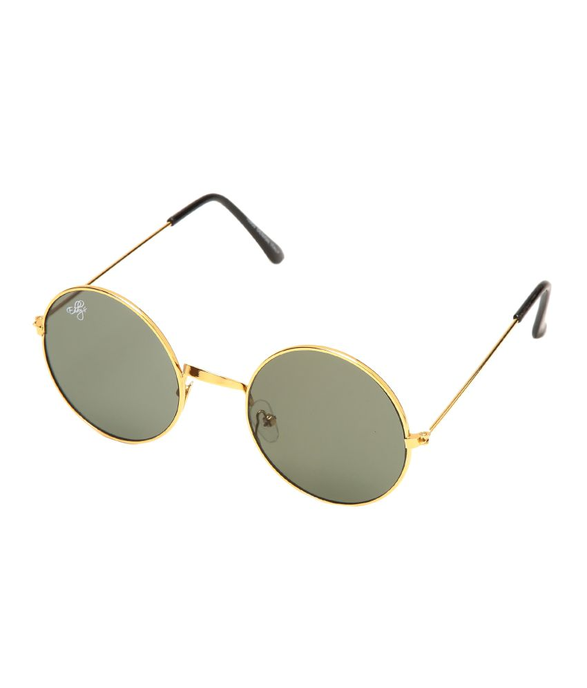 Eddy's Green Round Aviator For Men And Women