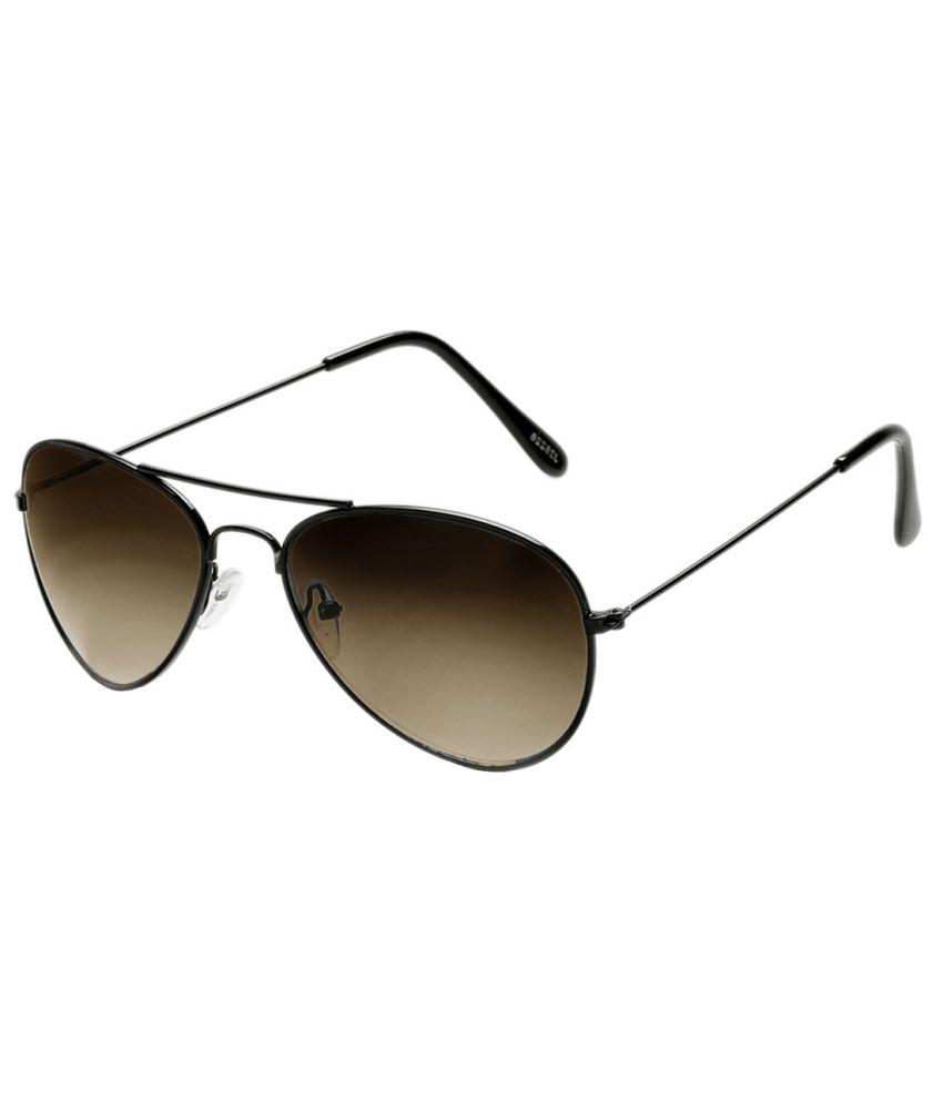 Neolithic B-20028 Black Metal UV Protected Aviator Sunglasses