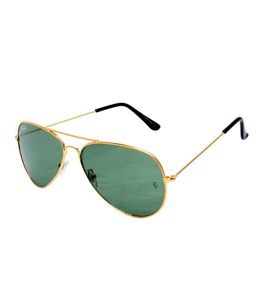 Optical Express Metal Black Color Aviator Shape Unisex Sunglasses