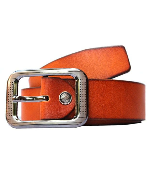 Winsome Deal Tan Leather Formal Belt