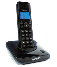 Beetel X63 Cordless Landline Phone - Black
