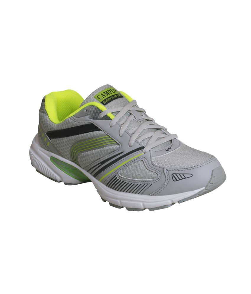 Campus Antro Gray Sport Shoes - Buy