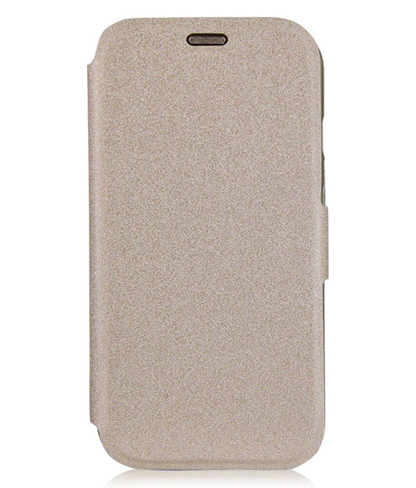 sports shoes 3c66d 8c9ae Imuca Noble Series Flip Cover for Moto G (1st Gen) - Golden