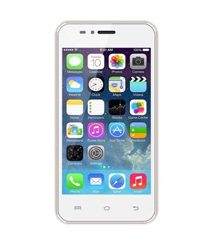 White Cherry MI1 4.4.3 (4GB, Golden)