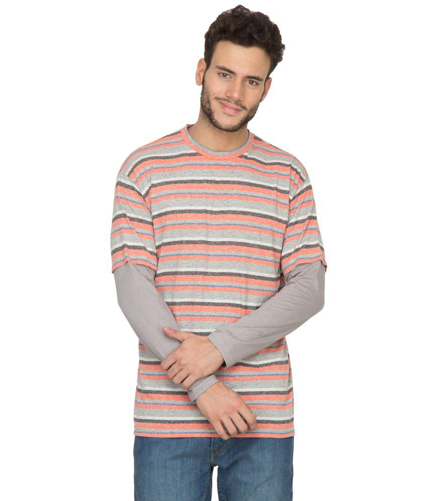 Hypernation Multi Cotton T Shirt