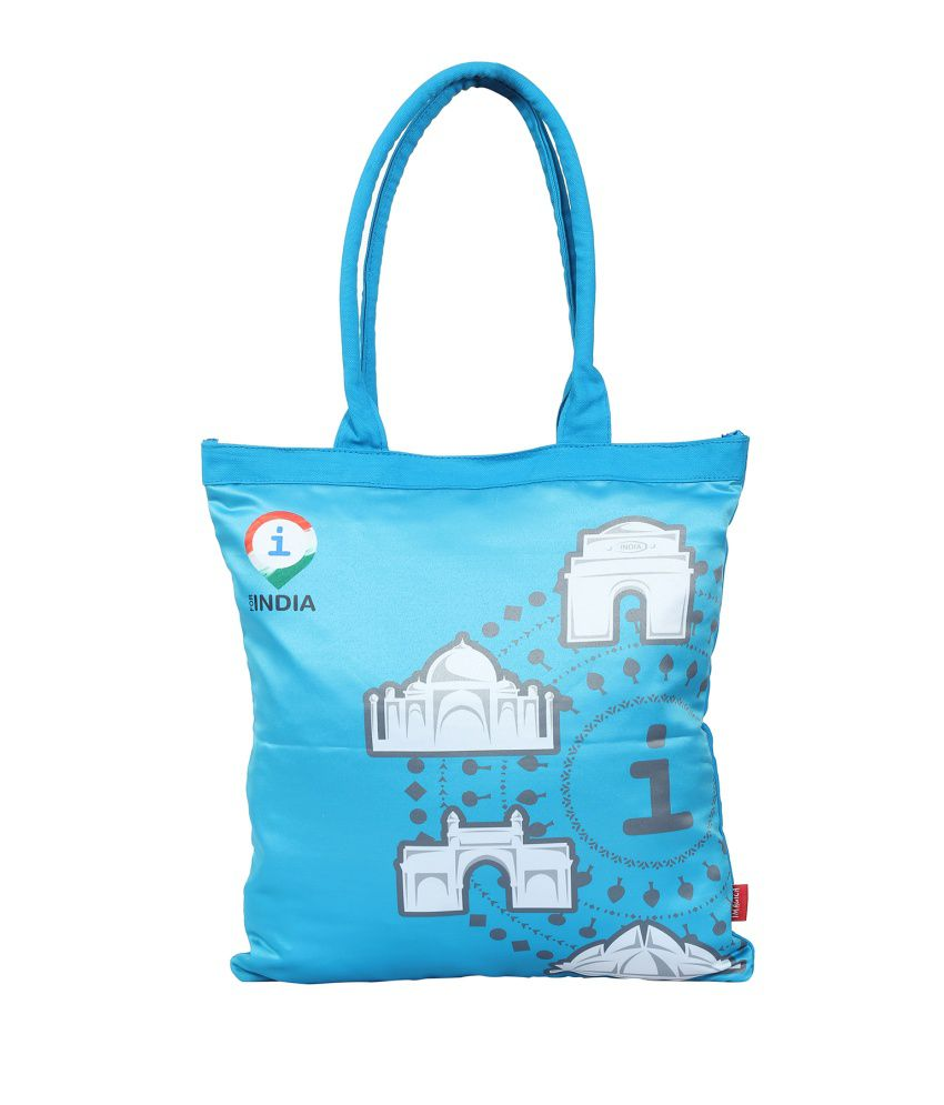 Imagica Blue Canvas Cloth Jholas