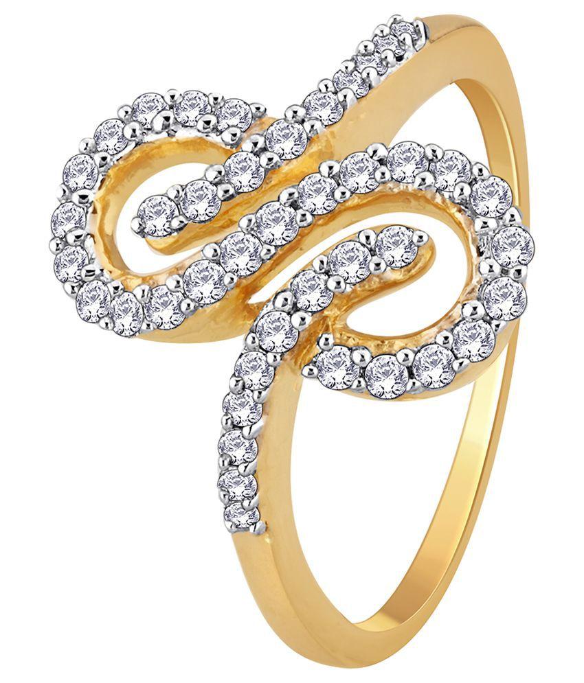 My Zevar Chic Tweek 18kt Diamond Gold Ring