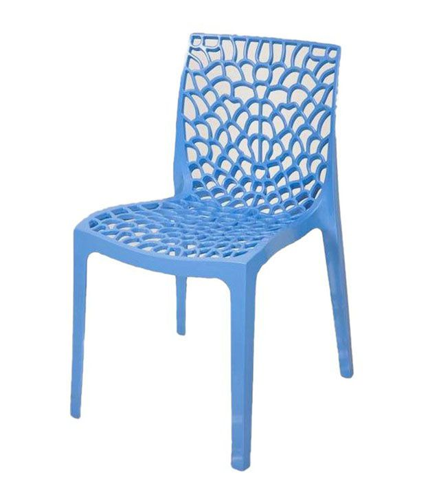 supreme plastic chair in blue buy supreme plastic chair