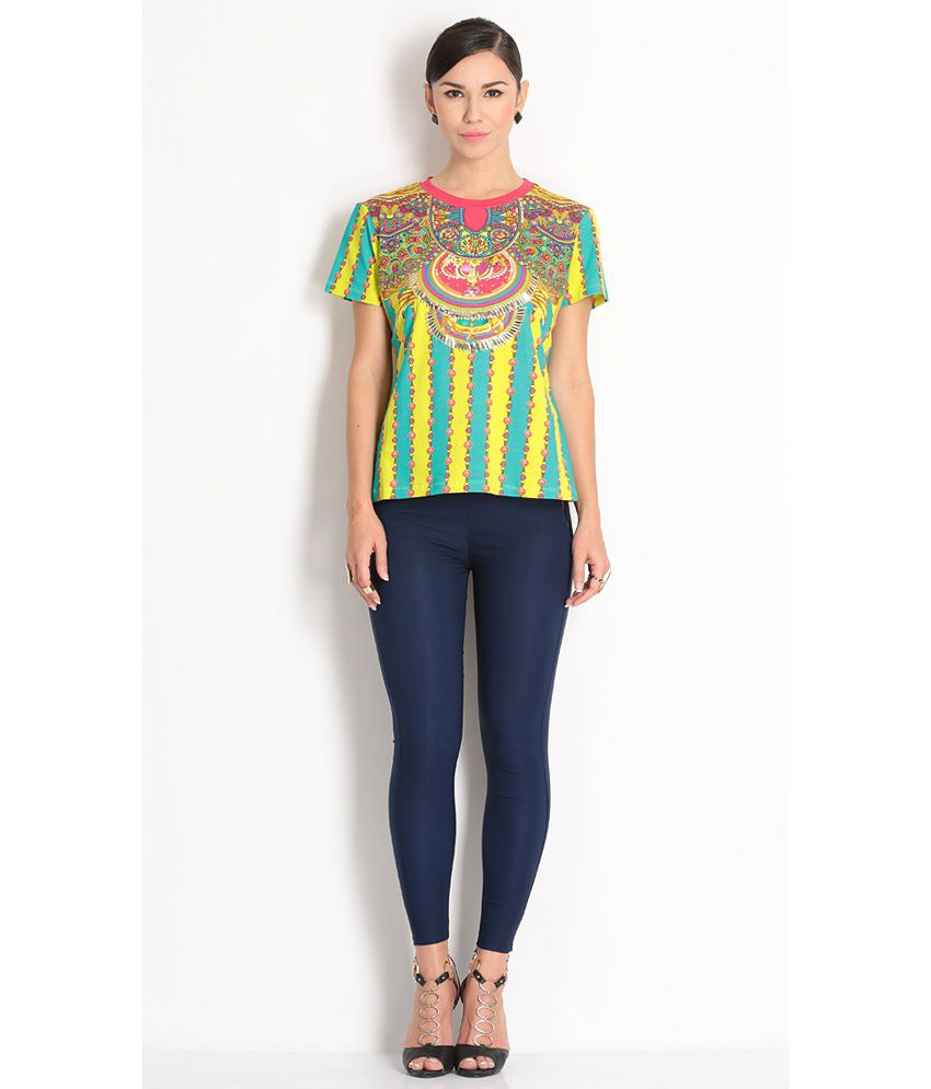 Manish Arora Multi Colour T-shirt