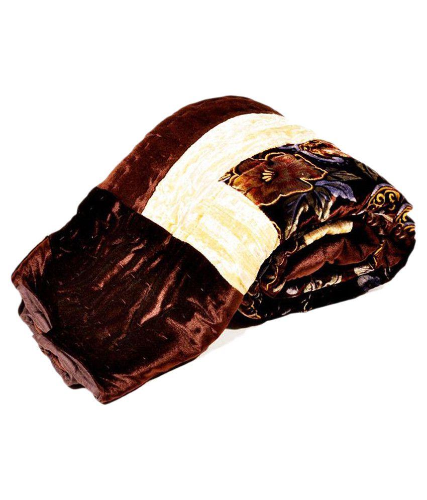 KRG Enterprises Brown Others Cotton Blanket