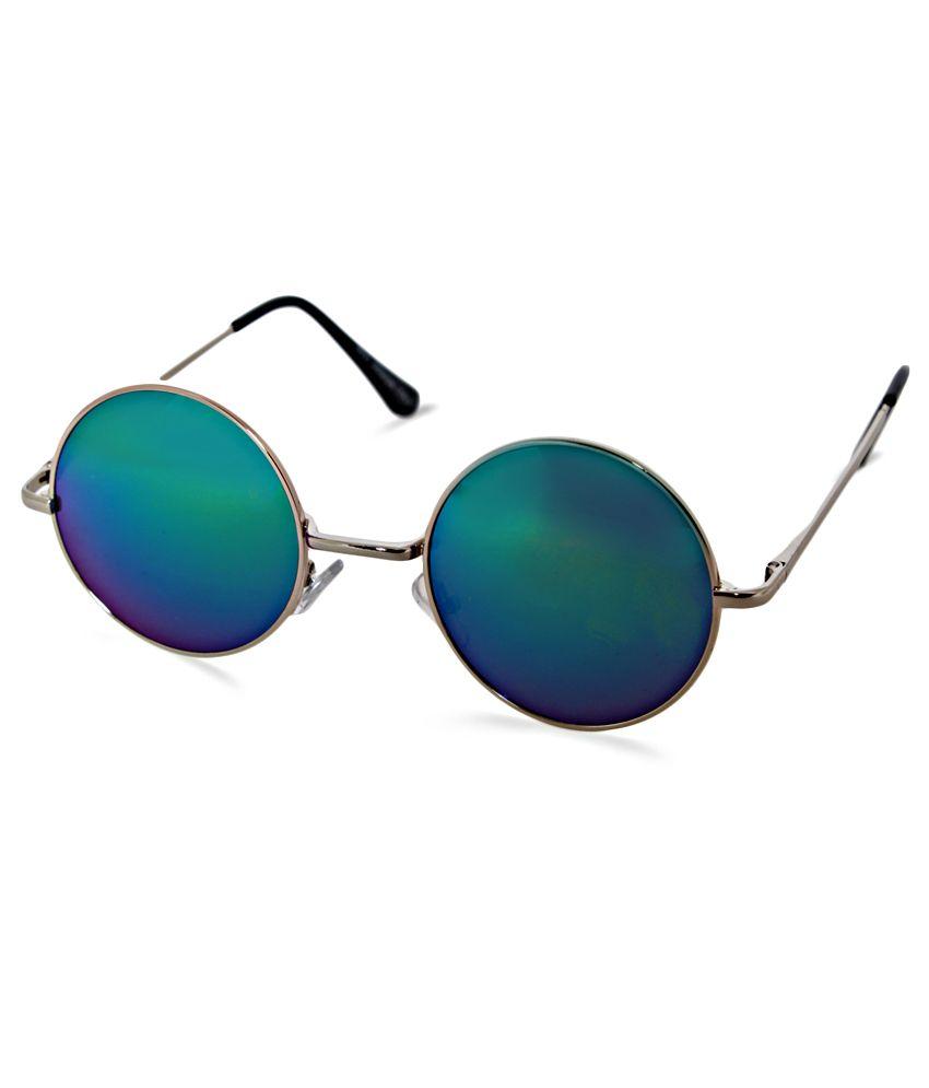 London Blues EC-207-G001 Round Sunglasses