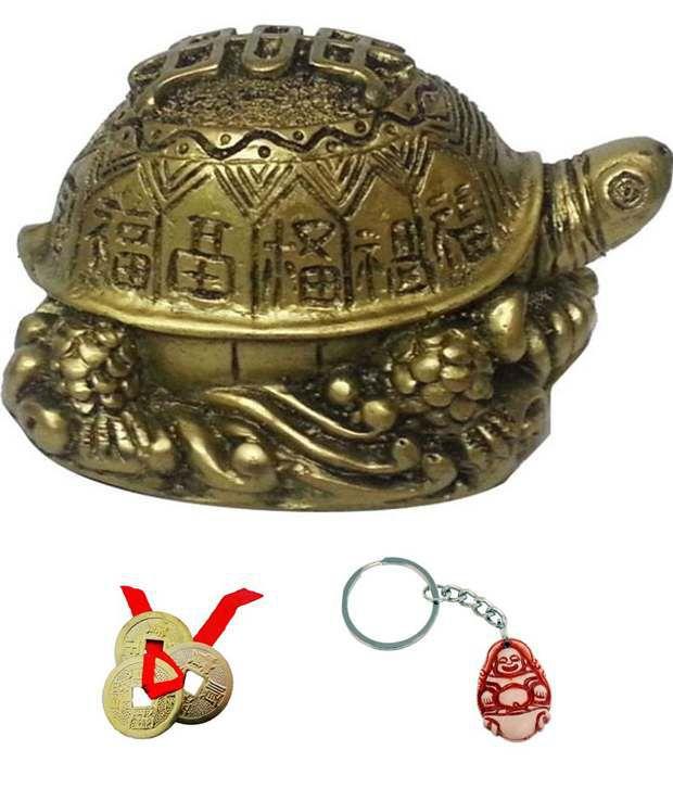 Subh Store Feng Shui Turtle Tortoise For Long Life Longitivity Gift Item
