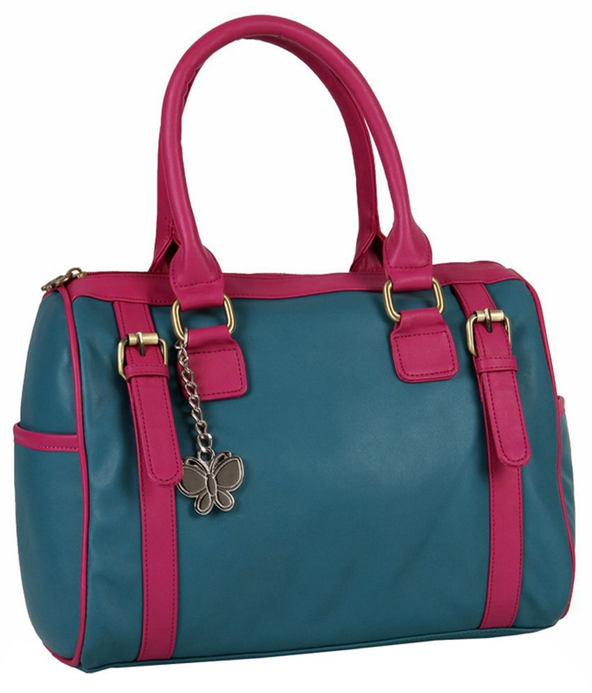 Butterflies Blue and Pink PU Shoulder Bag - Buy Butterflies Blue and Pink  PU Shoulder Bag Online at Best Prices in India on Snapdeal 4cbe5d2abe3e0