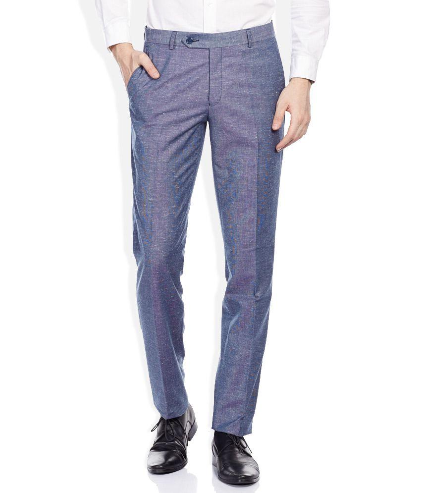 John Players Blue Trousers